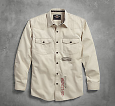 Stitched Yoke Twill Shirt