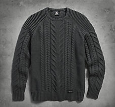 Heavyweight Cable Knit Sweater