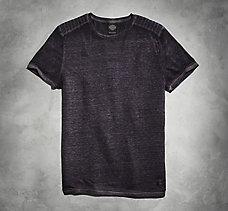 Moto-Inspired Knit Shirt