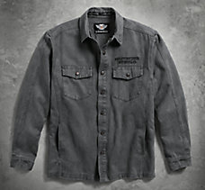 Sueded Shirt Jacket