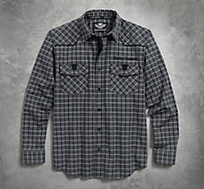 Modified Yoke Plaid Shirt