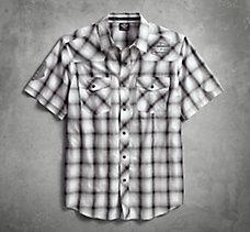 Washed Plaid Shirt