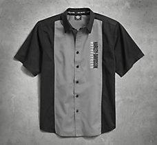 Iconic Eagle Colorblock Shirt