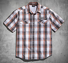 Enhanced Plaid Performance Shirt