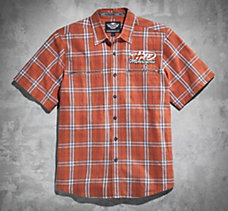 Raging Plaid Short-Sleeve Shirt