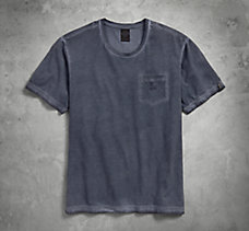 Cold-Dyed Pocket Tee