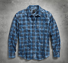 Cloud Wash Plaid Shirt