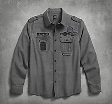 Multi-Patch Work Shirt
