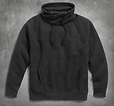High Collar Pullover Sweatshirt