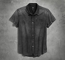 Garment Dyed Short Sleeve Shirt