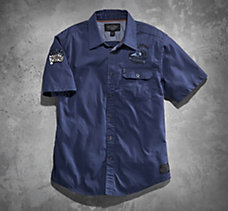 V-Twin Powered Woven Shirt