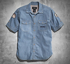 Short Track Final Chambray Shirt