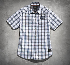 V-Twin Powered Plaid Shirt
