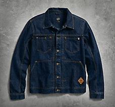 Raw Denim Trucker Jacket