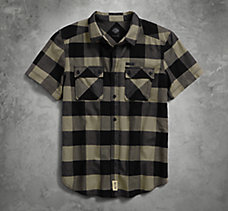 Large Scale Plaid Shirt
