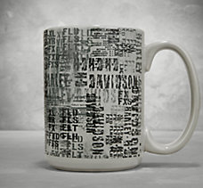 Allover Print Ceramic Mug
