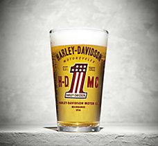 H-DMC #1 Pint Glass