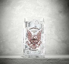 American Classic Soda Can Glass