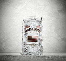 Stars & Stripes Soda Can Glass