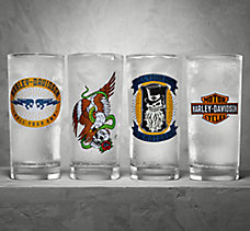 4-Pack Beverage Glass Set