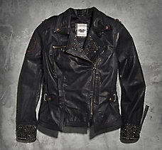 Winsome Leather Biker Jacket