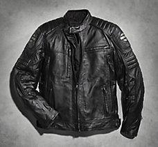 Waterproof Donoghue Leather Jack...