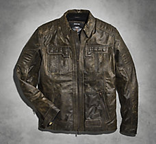Flex-Head Leather Jacket