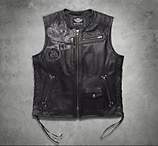 Fetter Leather Vest