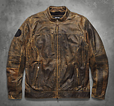 Miramar Distressed Leather Jacke...