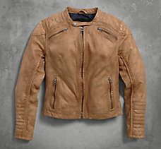 Buff Leather Jacket