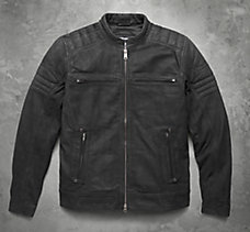 Thornton Buffed Leather Jacket