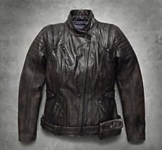 Brava Convertible Leather Jacket