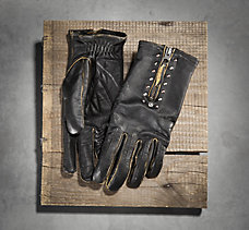 Panorama Leather Gloves
