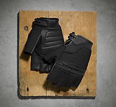 Sultan Fingerless Mesh Gloves