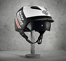 Argent Sun Shield Half Helmet