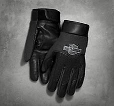 Broxton Leather/Mesh Gloves