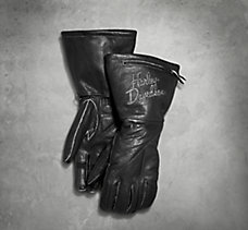 Brava Distressed Leather Gloves