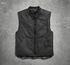 Coated Cotton Canvas Vest