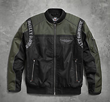 Warwick Nylon Bomber Jacket