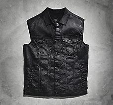 Coated Trucker Vest
