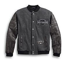Rowan Casual Varsity Jacket