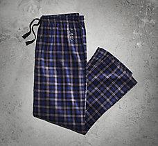 Blue Plaid Lounge Pant
