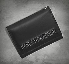 Embossed Tri-Fold Wallet