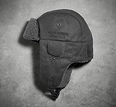 Sueded Aviator Cap