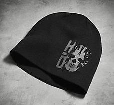H-D Skull Knit Hat