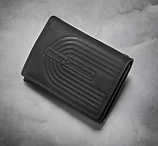 Retro Graphic Leather Wallet