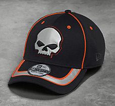 Reflective Skull 39THIRTY Cap