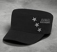 Star Flat Top Cap