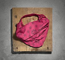 Flower Print Woven Headwrap