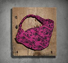 Floral Print Knit Headwrap